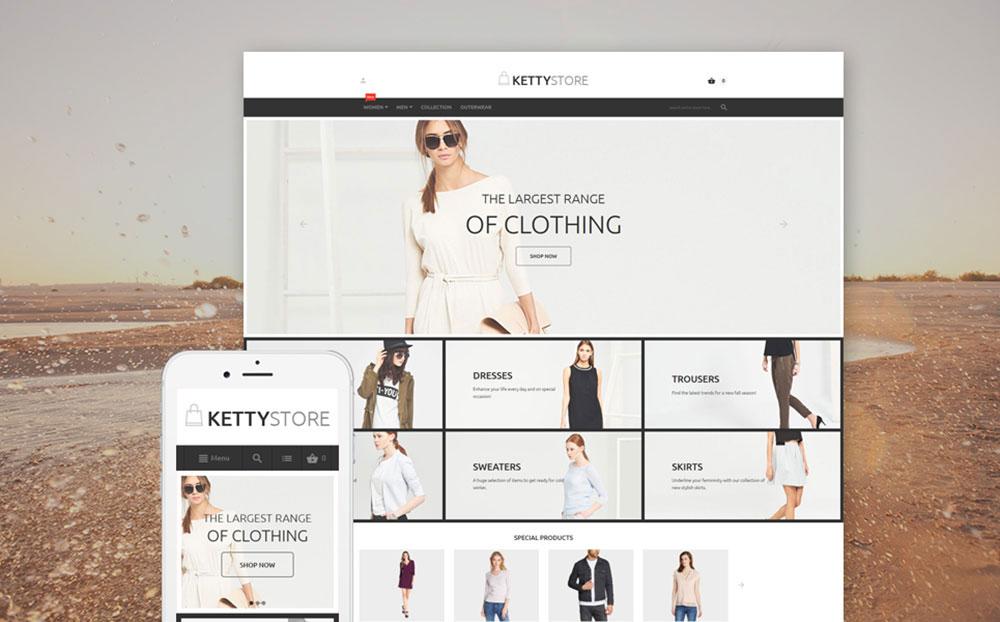 Pure Fashion: Fashion Store Magento Template