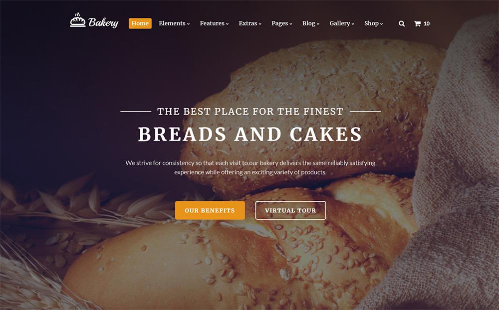 Baking Website Template