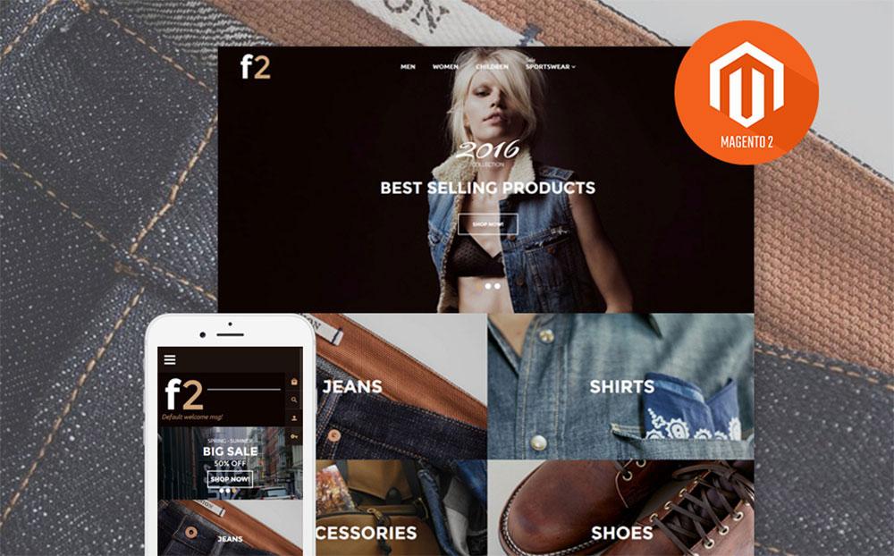 Fashion2: Fashion Boutique Responsive Magento Website
