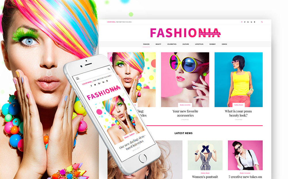 Fashionia - Online Fashion Magazine Responsive WordPress Theme