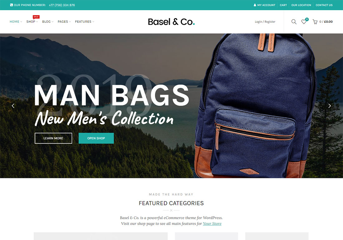 basel ajax woocommerce theme
