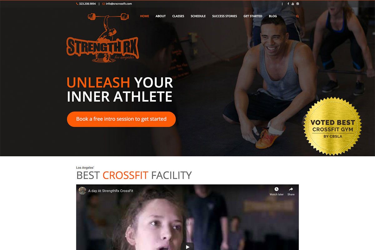 Strength RX CrossFit