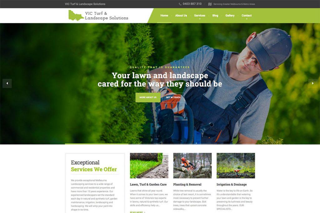 , 18 Best Landscaping Website Designs For Inspiration 2020, Rojak WP