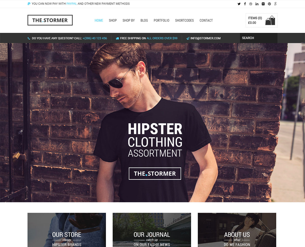 59fb79f36 16 Best T-Shirt Store WordPress Themes 2019 - Colorlib
