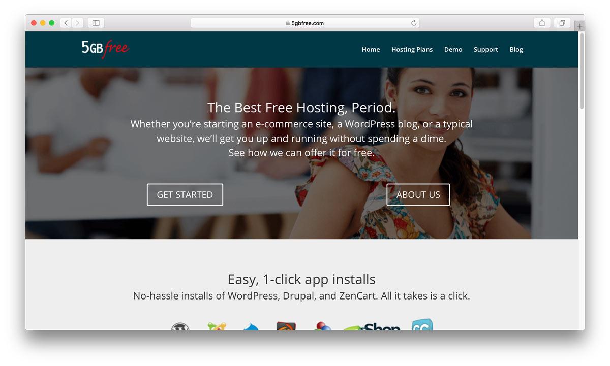 5GBFree home page