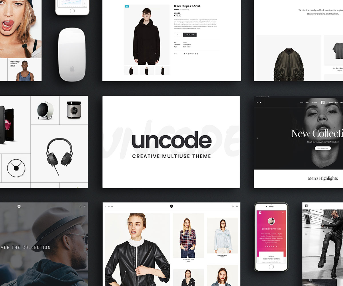 Design your own t-shirt best website - Uncode Is A Warm And Inviting Powerful And Versatile Superbly Simple And Streamlined Both User And Developer Friendly Reliable And Secure