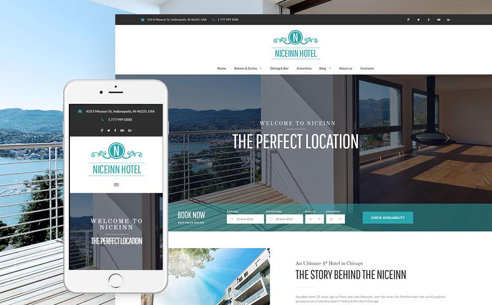 NiceInn Hotel - Small Hotel WordPress Theme