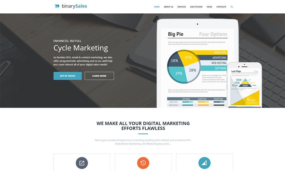 SEO & Digital Marketing Agency WordPress Theme