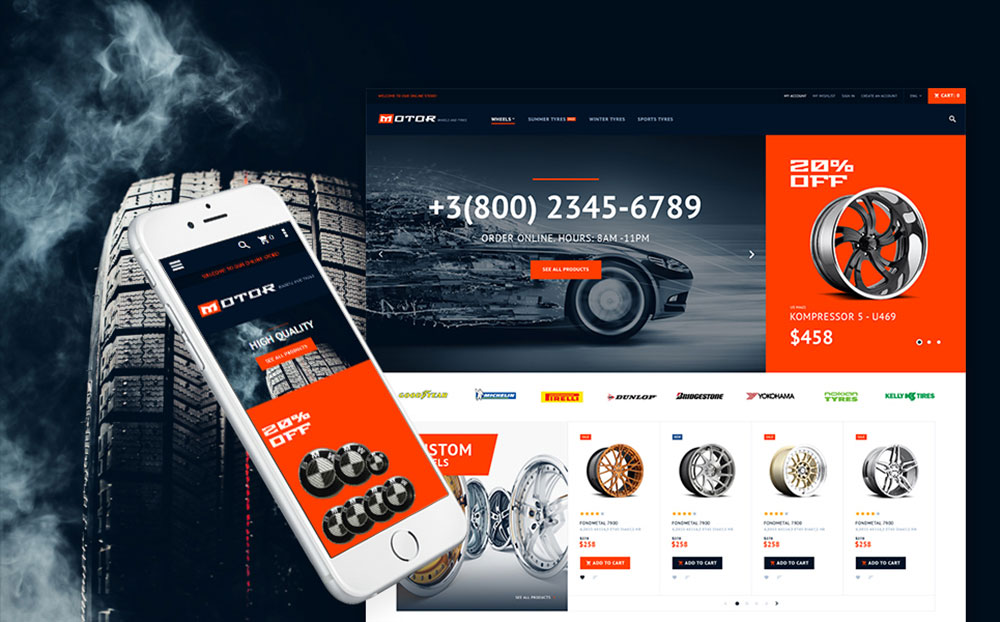 TopGear: Car Services Responsive Magento Store