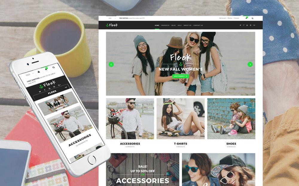 Fleek - Fashion Responsive Shopify Theme