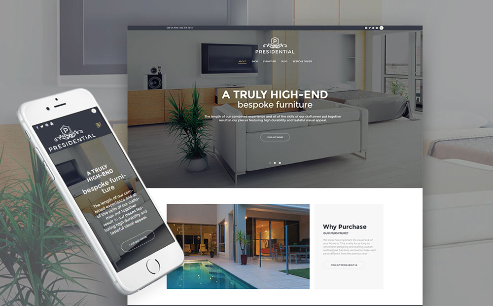 or & Furniture WP Theme