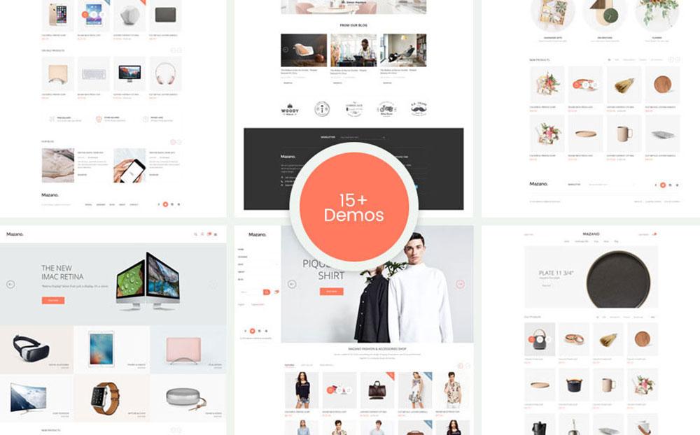 Mazano - Responsive, Minimalist Fashion, Furniture Shopify Theme