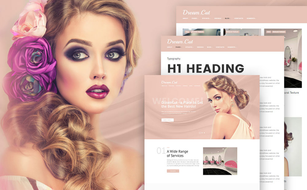 DreamCut WordPress Theme