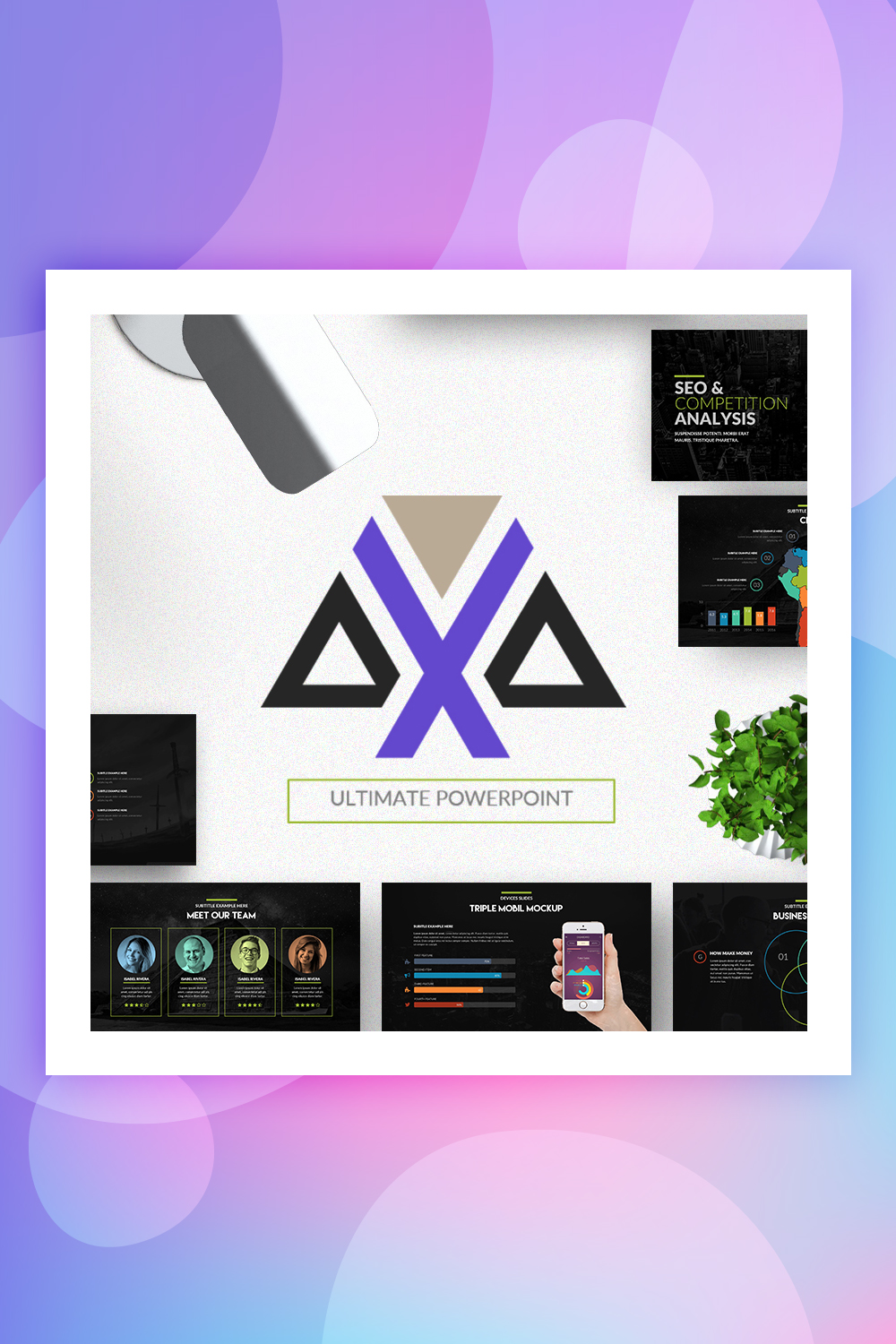 Mobile Store PowerPoint Template