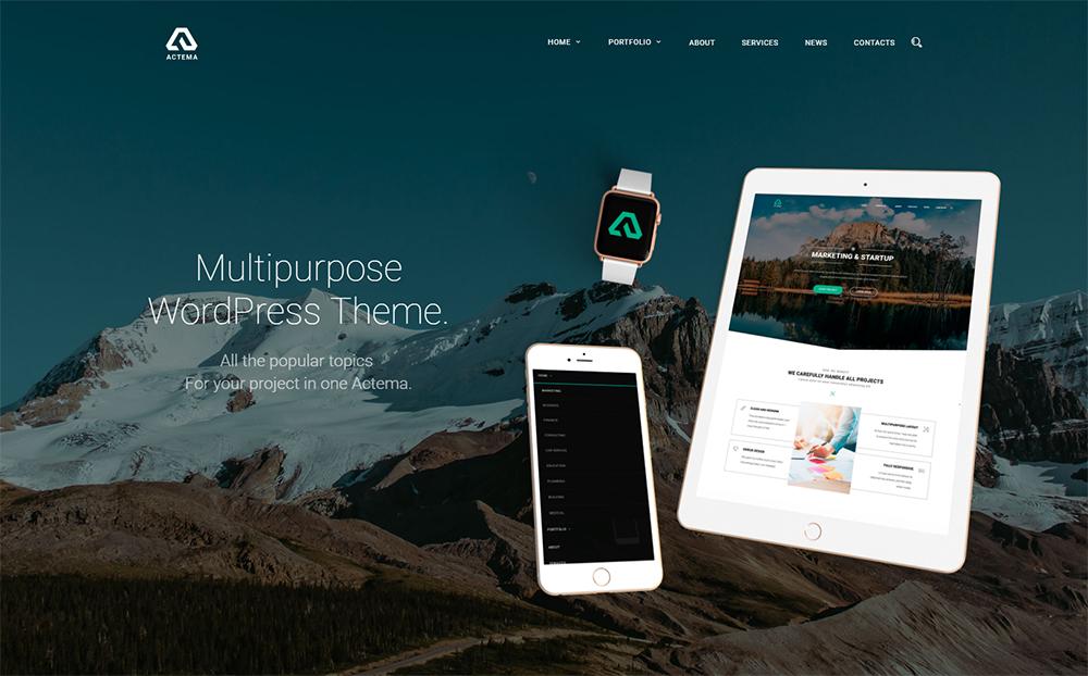 Actema - Creative Business Multipurpose WordPress Theme