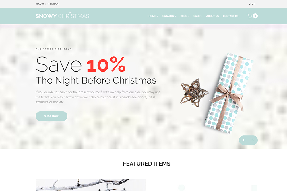 Christmas Gifts Shopify Theme