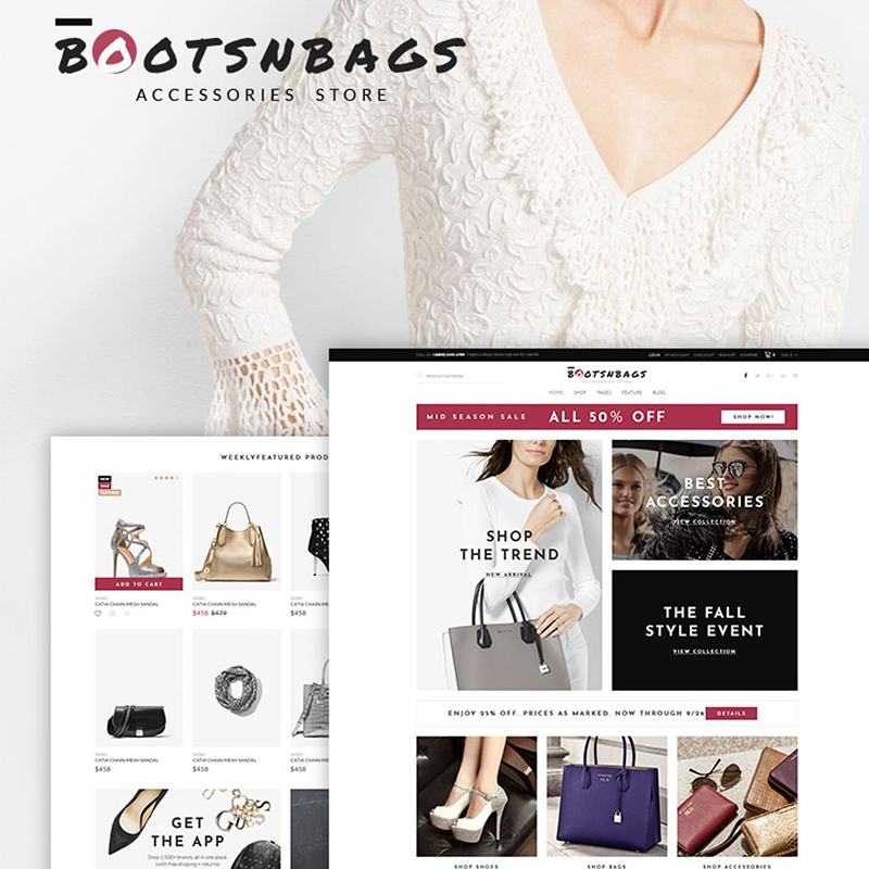BootsnBags - Accessories Store WooCommerce Theme