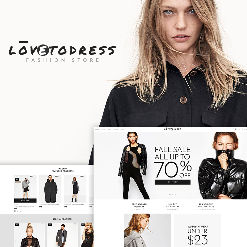 LovetoDress - Fashion Store WooCommerce Theme