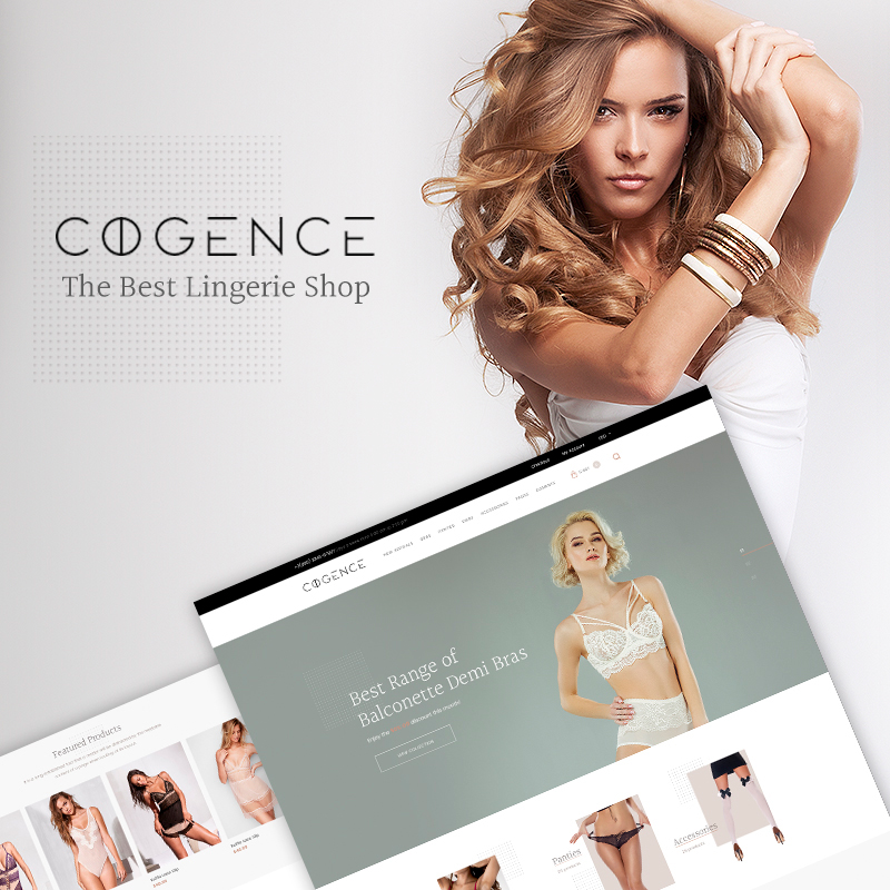 Cogence - Lingerie Shop WooCommerce Theme