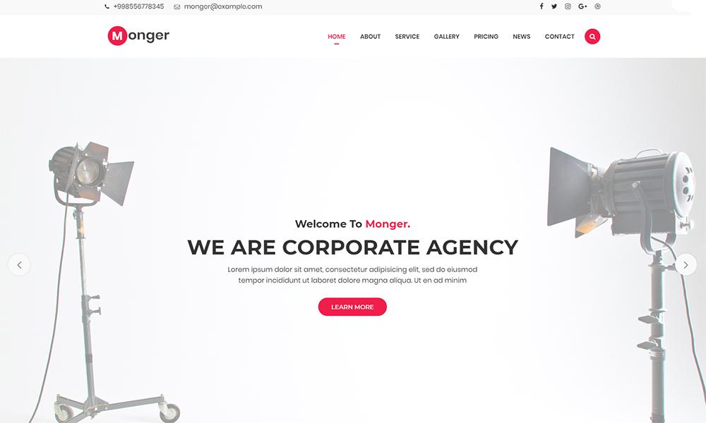 , 12 Best HTML & WordPress One-Page Templates 2021, Rojak WP