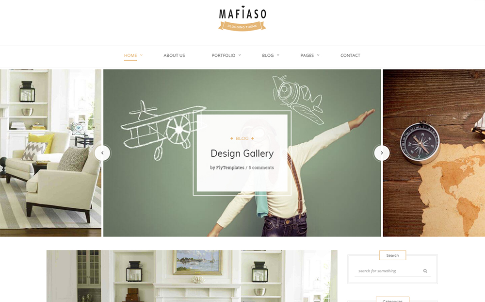 Mafiaso - Blog WordPress Theme