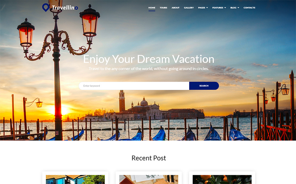 Travellino - Travel Company Elementor WordPress Theme