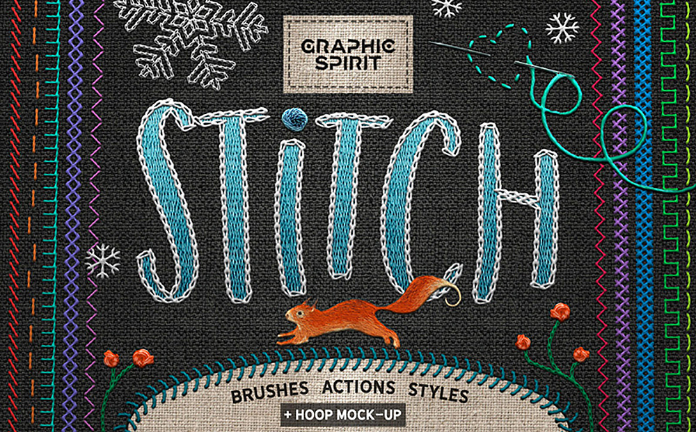 Stitch - Photoshop Creative TOOLKIT Bundle