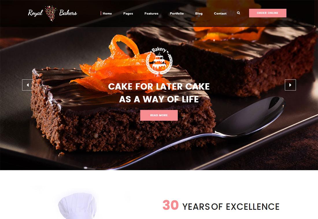 Royal Bakery - HTML5