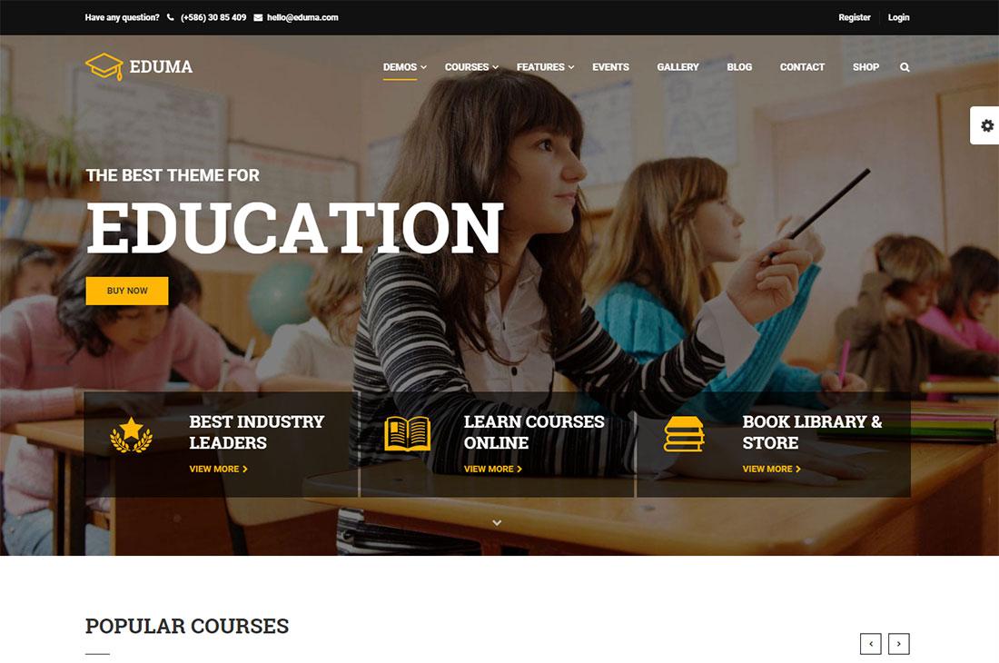 education wp elementary school WordPress theme