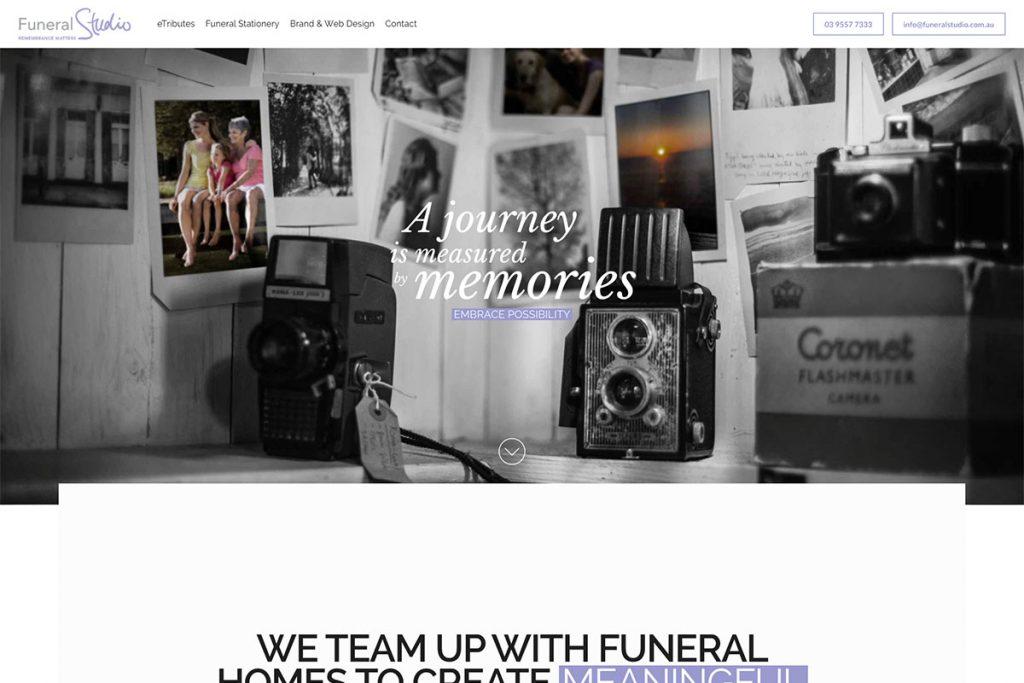, 18 Best Funeral Websites For Inspiration 2020, Rojak WP