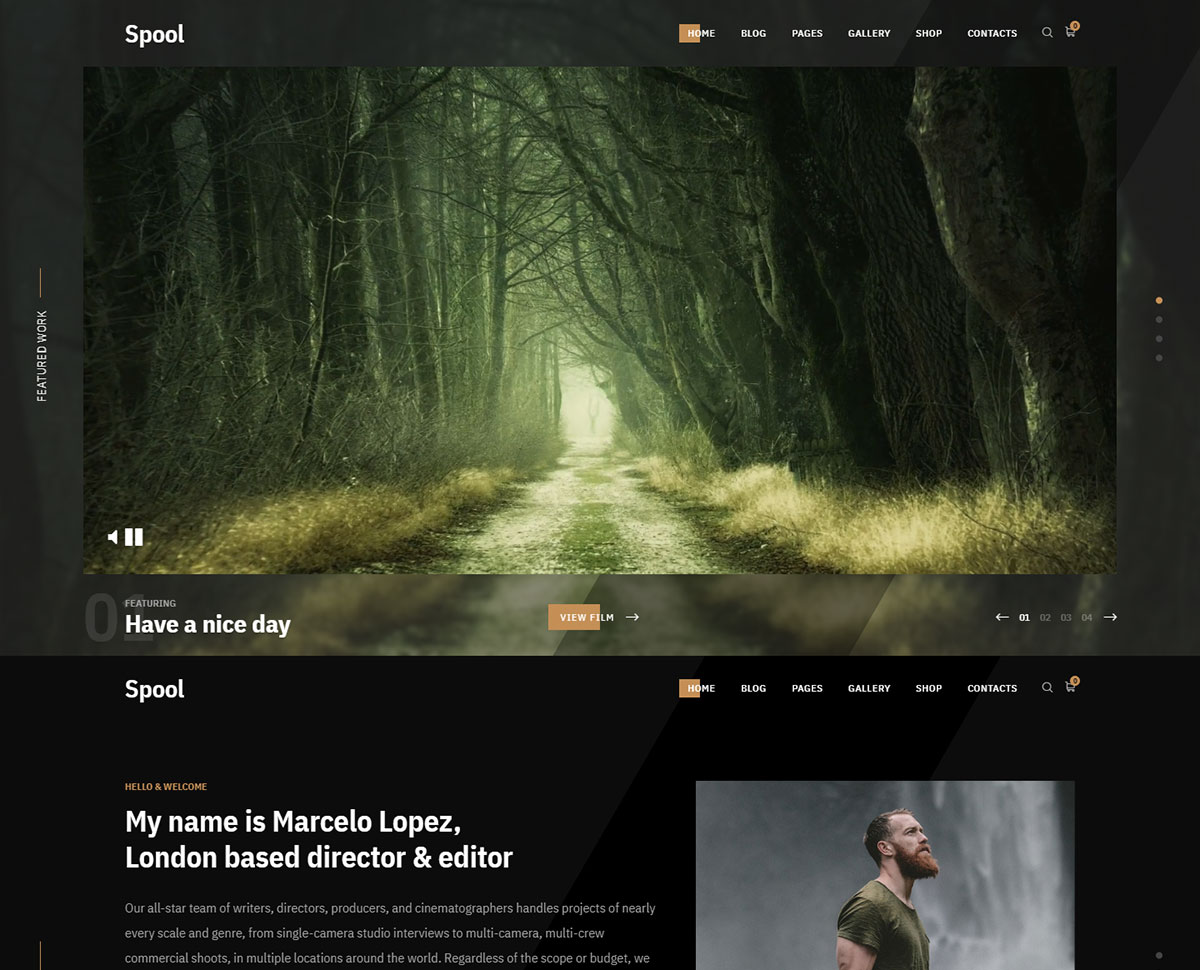 movies wordpress theme