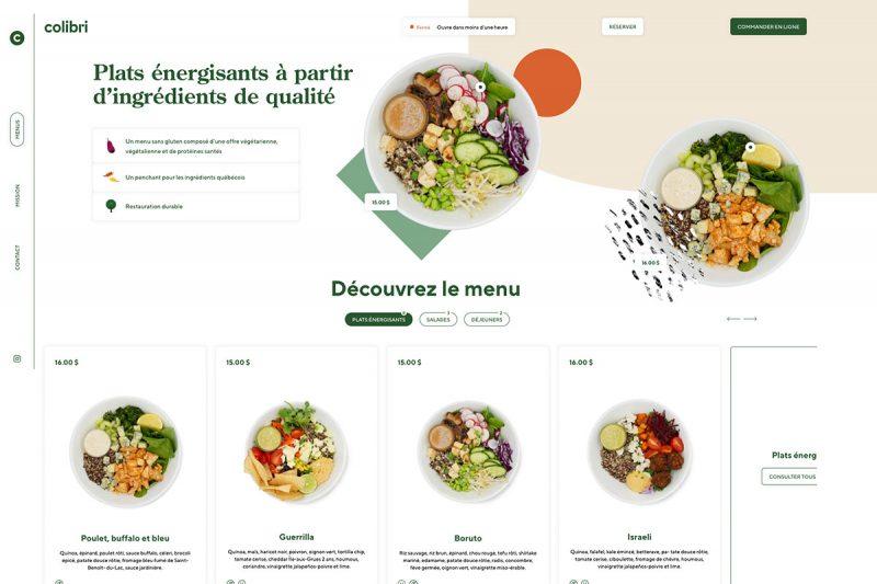 20 Best Restaurant Website Designs Inspiration2020