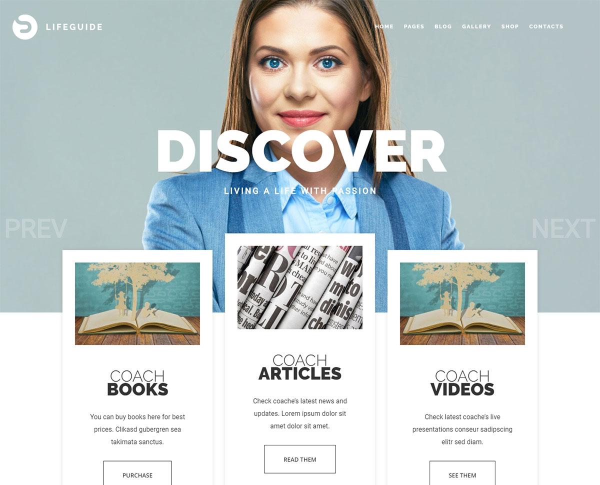Best Speaker Wordpress Themes for Motivational Speakers