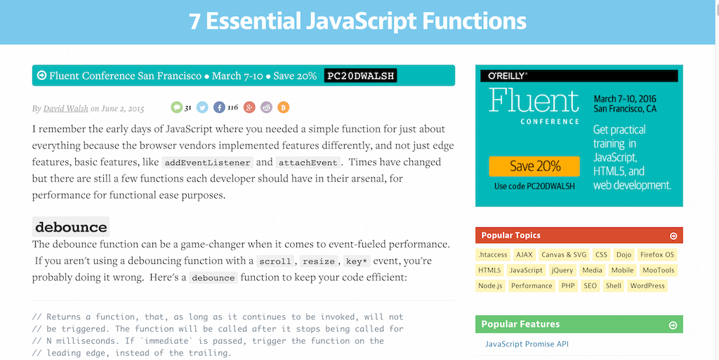 7 Essential JavaScript Functions