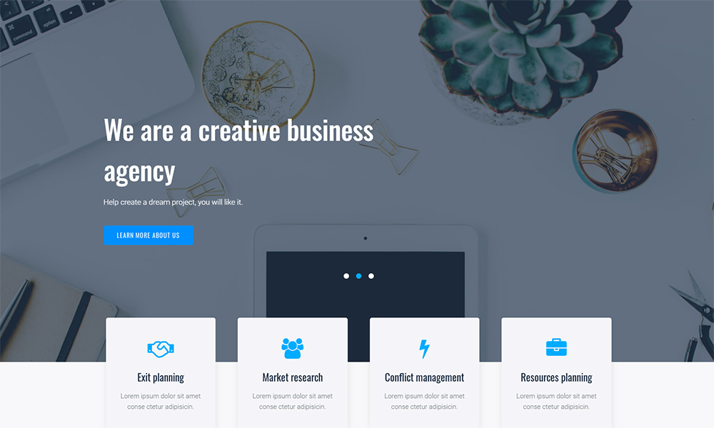 Granbiz - Business Jet Elementor Template