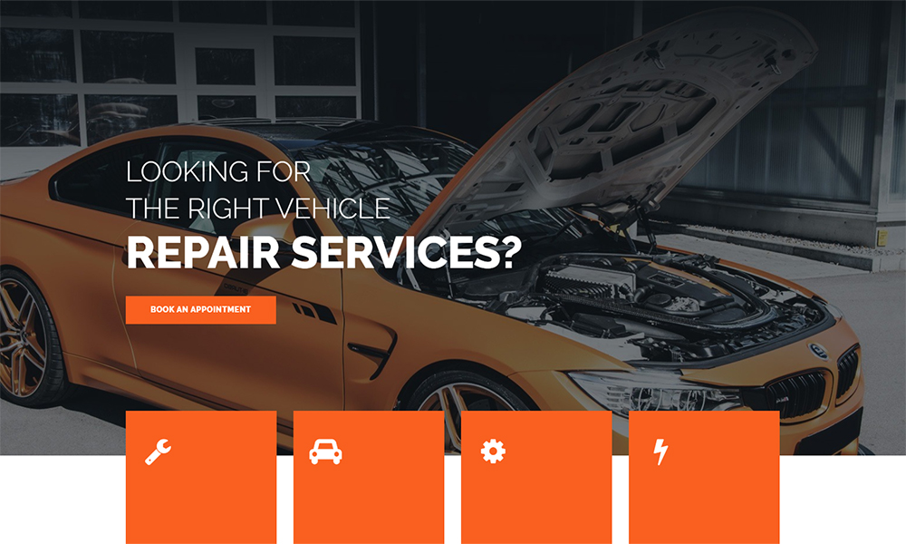 Engirem - Car Repair Jet Elementor Template