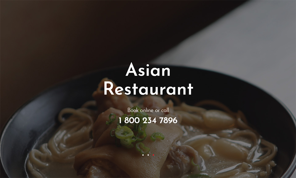 RedDragon - Asian Restaurant Jet Elementor Template