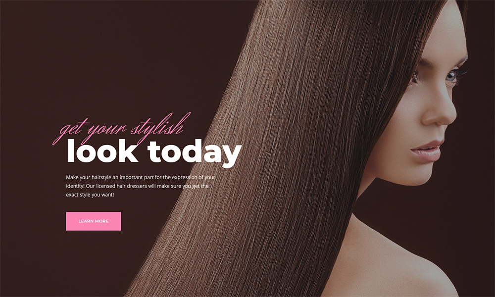 Longsdale - Beauty Salon Jet Elementor Template