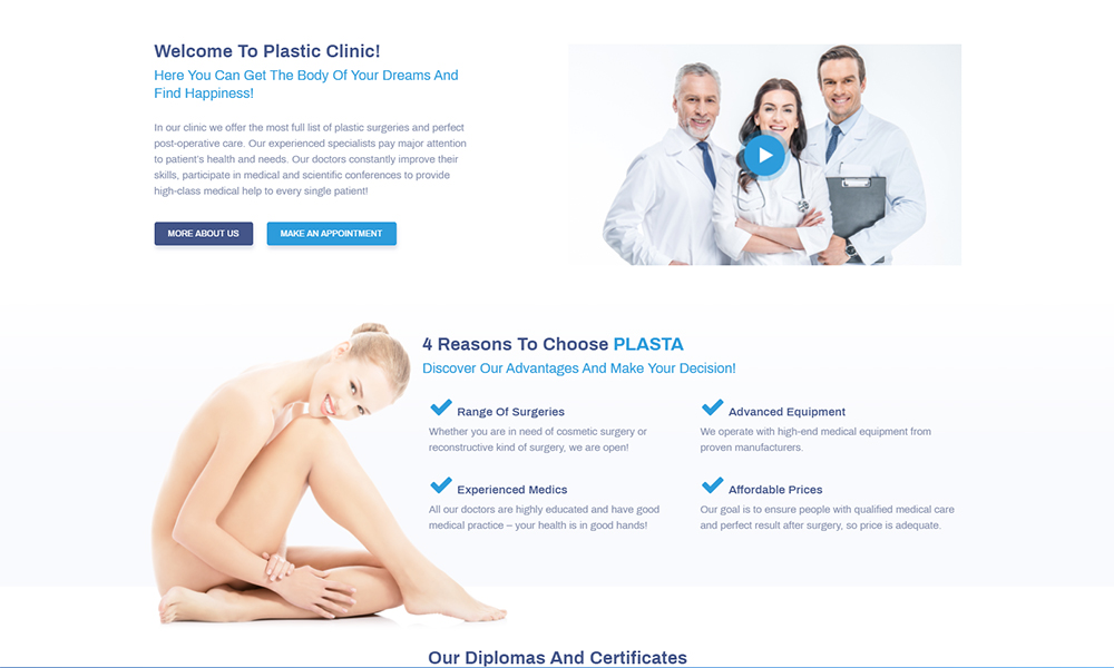 Perfectia - Medical Jet Elementor Template