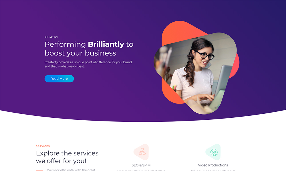 Marketz - Digital Agency Jet Elementor Template