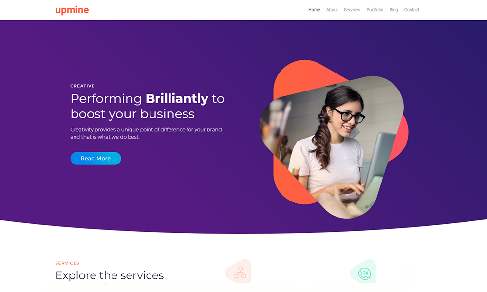 Markent - Digital Agency Jet Elementor Template