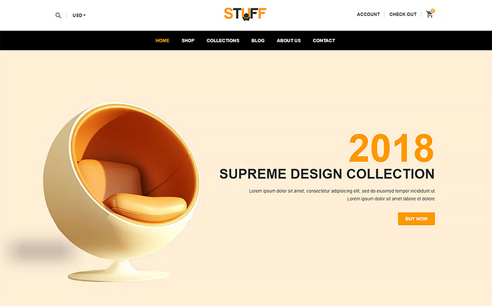Stuff - Furniture Shopify Theme