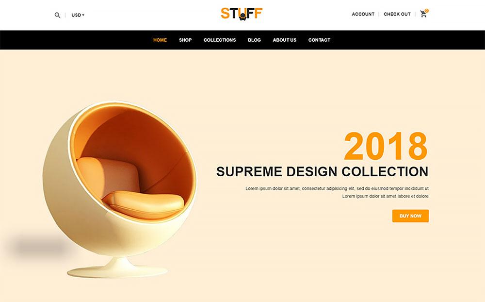 Stuff - Furniture Shopify Theme