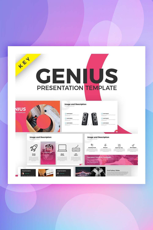 Genius Keynote Template