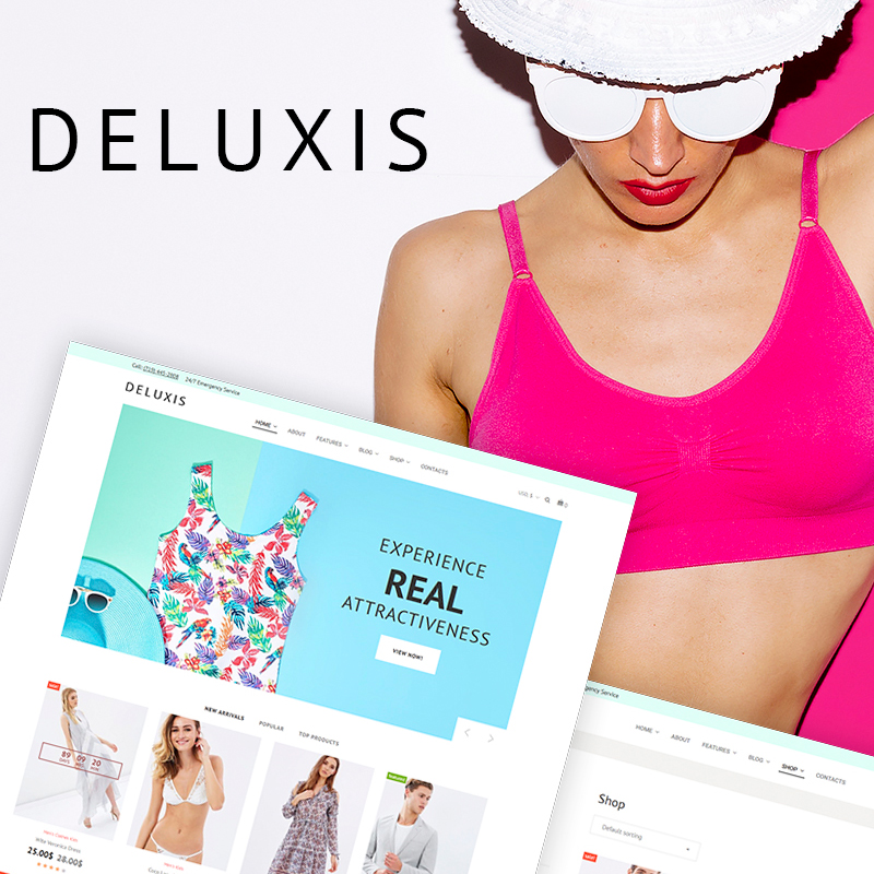 Deluxis - Fashion Store Elementor WooCommerce Theme