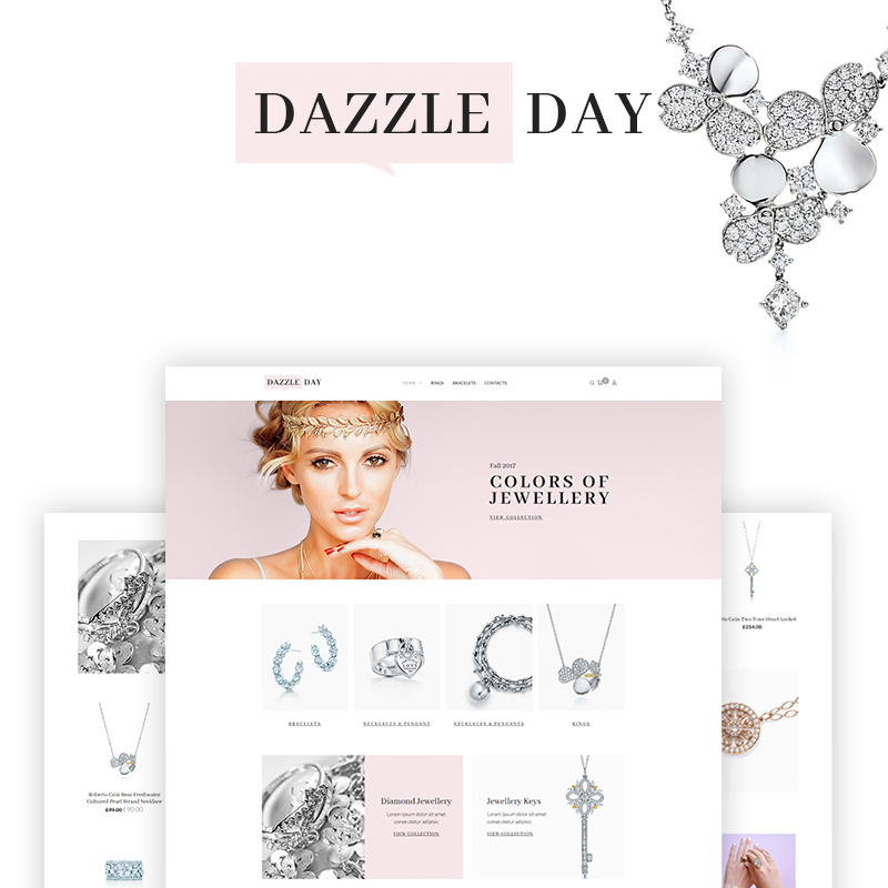 DazzleDay - Accessories Store WooCommerce Theme