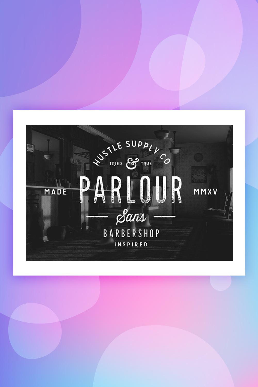 Parlour Sans Font