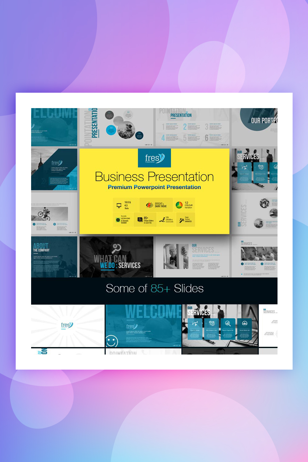 Business Presentation Keynote Powerpoint Templates Colorlib
