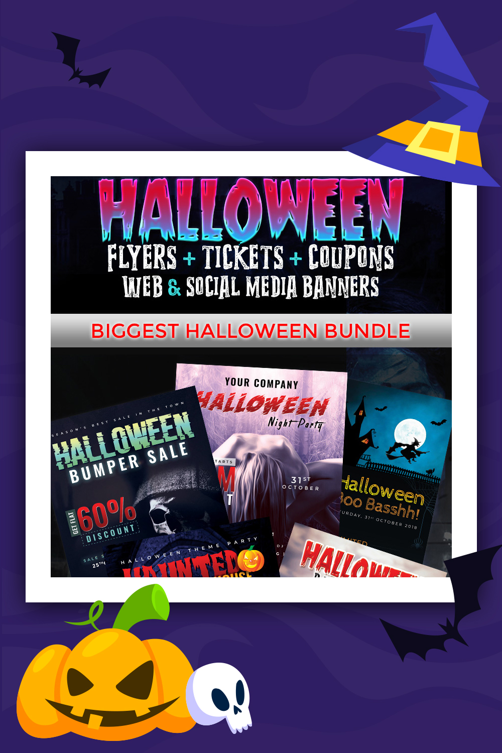 Halloween Big Bundle - Corporate Identity Template