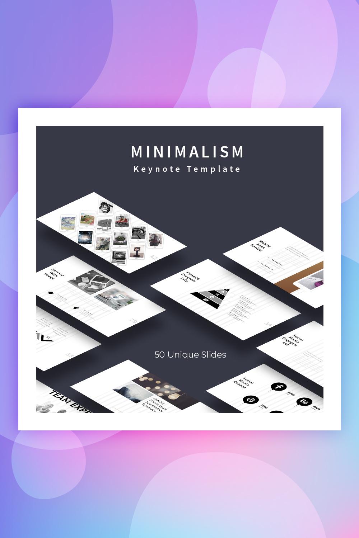 Minimalism Keynote Template